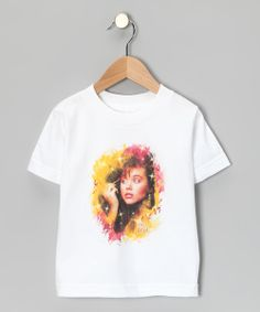 Though little ones might not be able to recognize the awesome blast from the past graphic that graces this classic tee, they'll still be able to appreciate its comfy cotton fit and all the compliments they receive while wearing it.100% cottonMachine wash; tumble dryImported