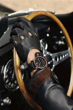 The RL Automotive Watch: Inspired by Mr. Lauren's own 1938 Bugatti Type 57SC Atlantic Coupe, crafted to masterfully bridge the automotive and horological worlds.