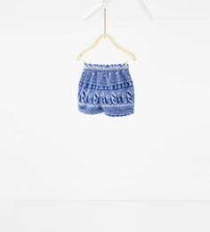 изображение 2 из Жаккардовые шорты от Zara