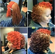 39 Ideas braids hairstyles for black women locs - Short Hair Braids - Top Hairstyles For Men, Braided Hairstyles For Black Women, Dreadlock Hairstyles, Cute Hairstyles, Hairstyles 2018, Wedding Hairstyles, Dreads Styles For Women, Short Dread Styles, Natural Hair Salons