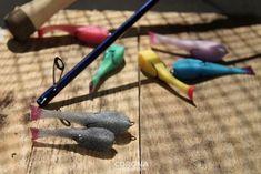 Okoniowa paralonka w 8 wersjach kolorystycznych #wędkarstwo #przynęty #okoń Corona
