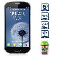 This phone will only work with GSM+WCDMA network  GSM 850/900/1800/1900 WCDMA 2100MHz.  Unlocked for Worldwide use, please check if your local area network is compatible with this phone    Main Features  Type: Touch screen phone  Color: Black  OS: Android 4.1.1  CPU: Media Tek MTK6577 Dual Core 1...  Click on Picture to go to Store