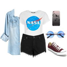 A fashion look from May 2017 featuring rag & bone/JEAN shorts, Converse sneakers and Rebecca Minkoff tech accessories. Browse and shop related looks.