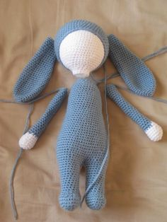 meo my crochet: Bunny Pattern Perfected - also a bear pattern on this site