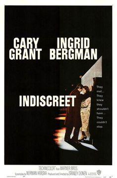 Indiscreta / dirección y producción Stanley Donen (1958)
