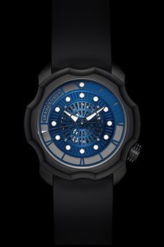 An executive class sports watch in which the timer ring is directly integrated into the movement. Amazing Watches, Cool Watches, Rolex Watches, Watches For Men, Watch Blog, High End Watches, Time Design, Watch Model, Watch Brands