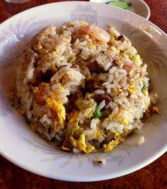 Fried rice  (日華楼、松本)