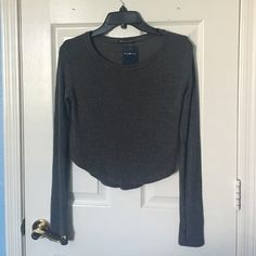 Spotted while shopping on Poshmark: NWT Brandy Melville Grey Knit Sweater Top! #poshmark #fashion #shopping #style #Brandy Melville #Sweaters