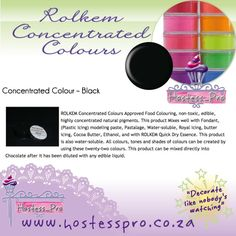 Rolkem Concentrated Powders and more of the range available  Shop safely from the comfort of your own home. We courier of post to you. www.hostesspro.co.za Or contact your nearest area agent #cakedecorating #sugarcraft #hostessprosugarcraft