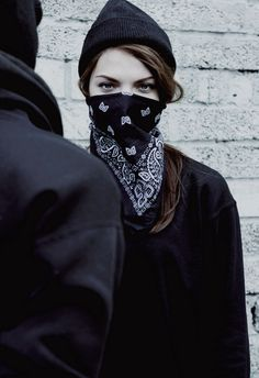 """#amwriting """"You ready?"""" Nate asked. Claire only narrowed her eyes and pulled her black bandana around her face dryly saying, """"Are you asking me or yourself?"""""""