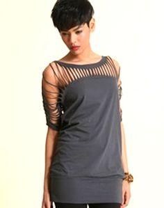http://itchingcircus.blogspot.tw/2013/06/diy-t-shirt-redesign-ideas.html