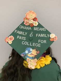 Struggling to figure out how to decorate a graduation cap? Get some inspiration from one of these clever DIY graduation cap ideas in These high school and college graduation cap decorations won't disappoint! Disney Graduation Cap, Funny Graduation Caps, Graduation Cap Toppers, Graduation Cap Designs, Graduation Cap Decoration, Graduation Diy, Funny Grad Cap Ideas, Decorated Graduation Caps, Quotes For Graduation Caps