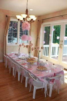 Princess Tea Party « Partying with the Princesses