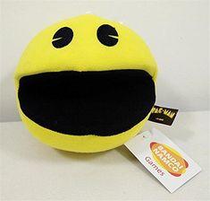 2015 Pixels Pac-man Kids Soft Plush Toy 6.3 Cute Pacman Stuffed Toys Doll Gift /item# G4W8B-48Q64697 @ niftywarehouse.com Doll Toys, Dolls, Pac Man, Stuffed Toys, Arcade, Videogames, Plush, Classic, Cute