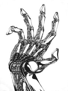 mechanical hand drawing - Google Search
