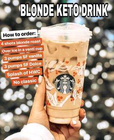 Keto Starbucks Drinks: 15 Low-Carb Orders - Green and Keto - Keto Starbucks Drinks: 15 Low-Carb Orders - Green and Keto Food! Keto Starbucks Drinks: 15 Low-Carb Orders - Green and Keto - Keto Foods, Keto Snacks, Keto Recipes, Keto Meal, Fondue Recipes, Gourmet Foods, Copycat Recipes, Drink Recipes, Dessert Recipes