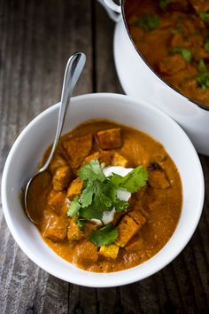 Roasted Butternut Tikka Masala #recipe #healthy