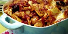 The best Olive and artichoke pasta bake recipe you will ever find. Welcome to RecipesPlus, your premier destination for delicious and dreamy food inspiration. Artichoke Pasta, Artichoke Recipes, Taleggio Cheese, Baked Pasta Recipes, Vegetable Puree, Pasta Bake, Serving Dishes, Food Inspiration, Macaroni And Cheese