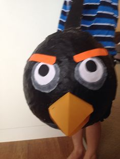 """Bomb"" angry bird pinata"
