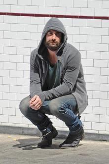 Adam Levine (looks like he has to poop...lol)