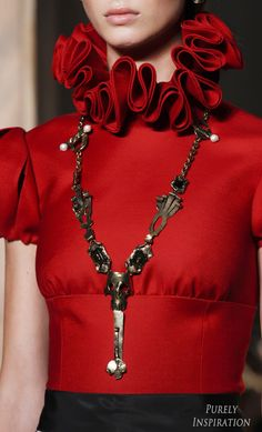 Valentino 2016 Fall Haute Couture (runway details) | Purely Inspiration …