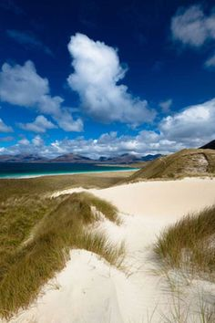 The 50 Best European beach breaks.....Luskentyre, Scotland; in the Isle of Harris. 3rd best in the world