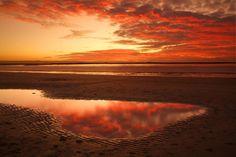 Sunset from Burnham on Sea