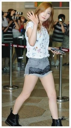 Official Korean Fashion Blog: SNSD Taeyeon Airport Fashion