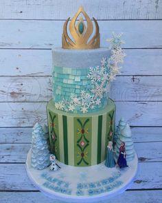 Frozen cake  by Natasha Rice Cakes