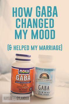 how GABA changed everything-My mood, my family life, my marriage. Kaylee Eylander DIY | GABA supplement benefits