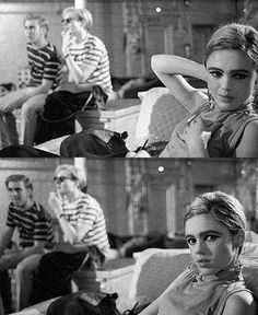 "l-o-o-p-y: ""Edie Sedgwick at the Factory, photographed by Stephen Shore, 1965"""