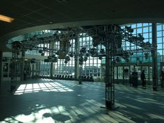 Lighting Truss and Disco Ball Installation (Fusion Lighting)