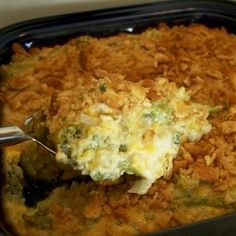 Creamy Broccoli Casserole Recipe and I love me a good broccoli casserole recipe