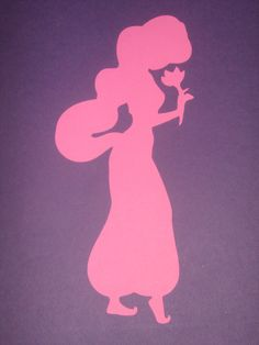 disney princess silhouette |jasmine