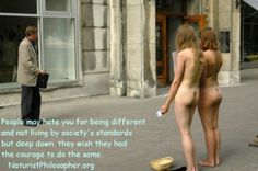 Nude In Public & All beautifull things