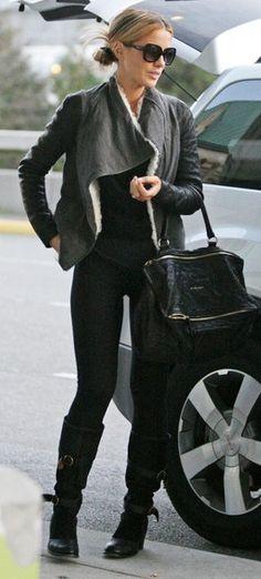 Jacket - Helmut Lang Purse - Givenchy Shoes - Fiorentini + Baker Sunglasses - Ferragamo