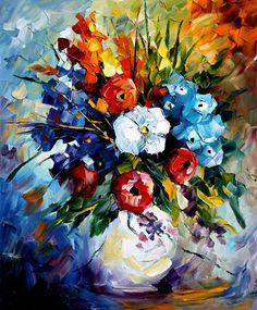DREAM FLOWERS - LEONID AFREMOV by Leonidafremov.deviantart.com on @deviantART