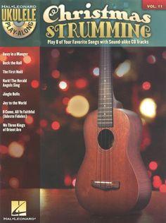 Hal Leonard Ukulele Play-along Volume 11: Christmas Strumming - Book & CD. £8.95