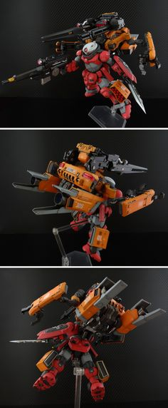 POINTNET.COM.HK - HG 1/144 GRIMOIRE + C.R.A.B. PACK Aida Special
