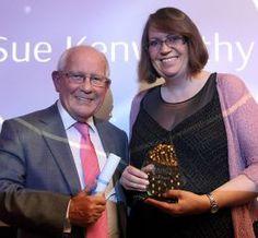 ACHS Award winner Sue Kenworthy CSci FIBMS Award Winner, Awards, Men, Guys