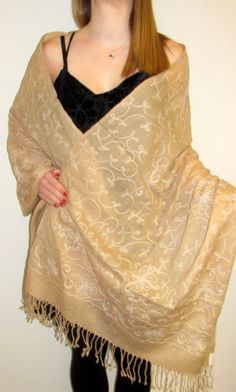 warm embroidered shawls, spring light shawls and summer silk pashminas - shawls for all! Buy on sale and have a fine collection of shawls to cherish.
