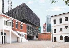 The Most Iconic Landmarks in SoHo, Hong Kong New Media Art, New Art, Art Basel Hong Kong, Famous Art Pieces, Art Central, Unique Buildings, Stone Houses, Soho, Facade