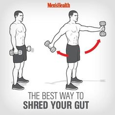Hammer your core and gain real-world strength with this cutting-edge fitness exercise. fitness motivation, #healthy #fitness #fitspo http://www.menshealth.com/fitness/best-way-shred-your-gut?cid=soc_pinterest_content-fitness_july14_shredyourgut