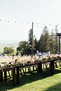 Robert Young Estate Winery || Farm table dinner with a view! #milestoneeventsgroup @jihancerda