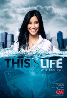 """ THIS IS LIFE W/ LISA LING"" SHOW KEYART on Behance"