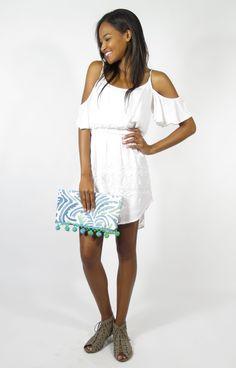 the cutest white dress