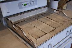 Primitive noodle board antique style noodle by LynxCreekDesigns Walnut Bedroom Furniture, Diy Furniture, Refurbishing Furniture, Painted Furniture, Primitive Furniture, Country Furniture, Distressed Furniture, Kitchen Stove, Diy Kitchen