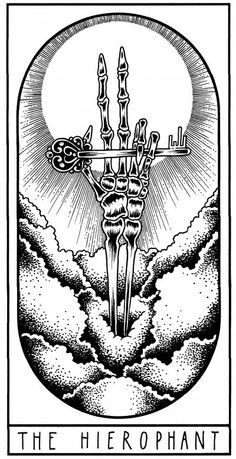 Visit the post for more. Tarot Card Tattoo, Famous Tattoo Artists, Chakra, Witch Tattoo, The Hierophant, Pagan Art, Grunge Art, Witch Art, Major Arcana