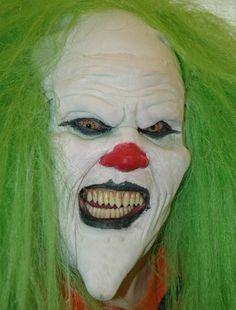 Déguisement de clown effrayant