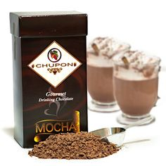 Chupon Drinking Chocolate.  Made with chocolate shavings instead of powder.